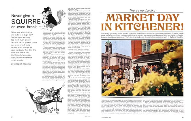 Article Preview: Theres no day like MARKET DAY IN KITCHENER!, September 1965 | Maclean's
