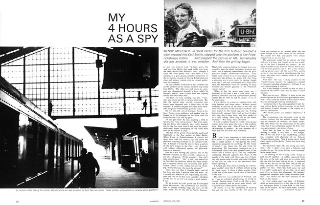 Article Preview: MY 4 HOURS AS A SPY, September 1965 | Maclean's