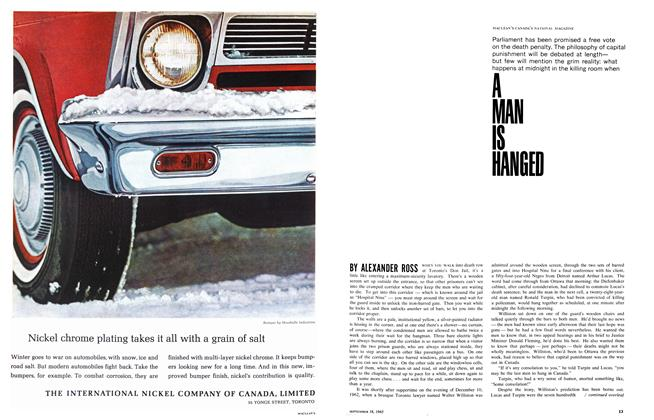 Article Preview: A MAN IS HANGED, September 1965 | Maclean's