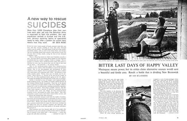 Article Preview: A new way to rescue SUICIDES, October 1965 | Maclean's