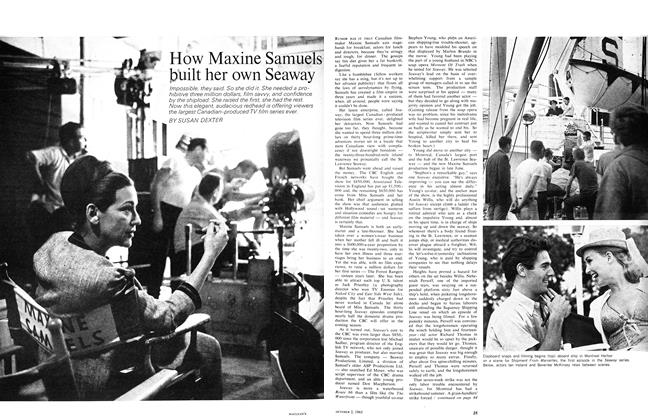 Article Preview: How Maxine Samuels built her own Seaway, October 1965 | Maclean's