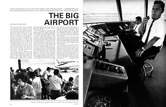 Article Preview: THE BIG AIRPORT, October 1965 | Maclean's