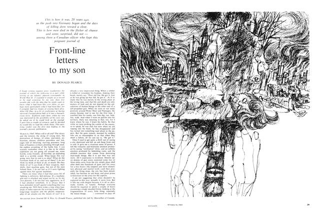 Article Preview: Front-line letters to my son, October 1965 | Maclean's