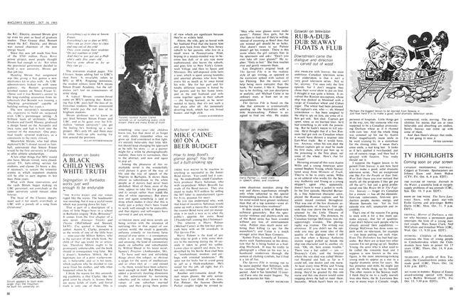 Article Preview: MIKE CAINE: 007 ON A BEER BUDGET, October 1965 | Maclean's
