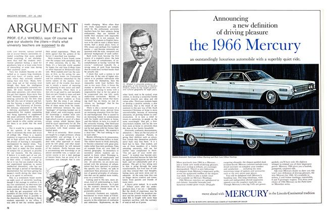 Article Preview: ARGUMENT, October 1965 | Maclean's
