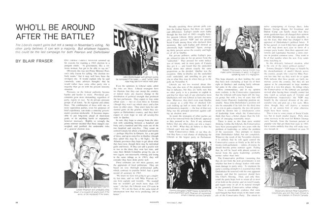 Article Preview: WHO'LL BE AROUND AFTER THE BATTLE?, November 1965 | Maclean's