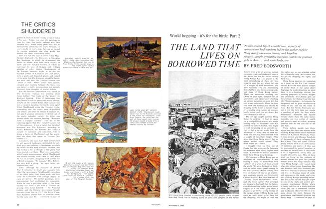 Article Preview: THE LAND THAT LIVES ON BORROWED TIME, November 1965 | Maclean's