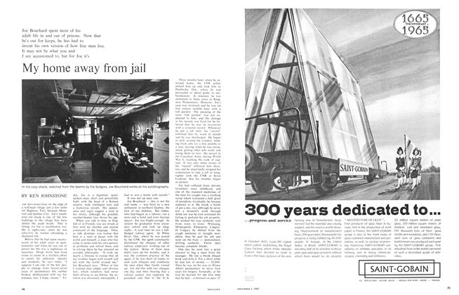 Article Preview: My home away from jail, November 1965 | Maclean's