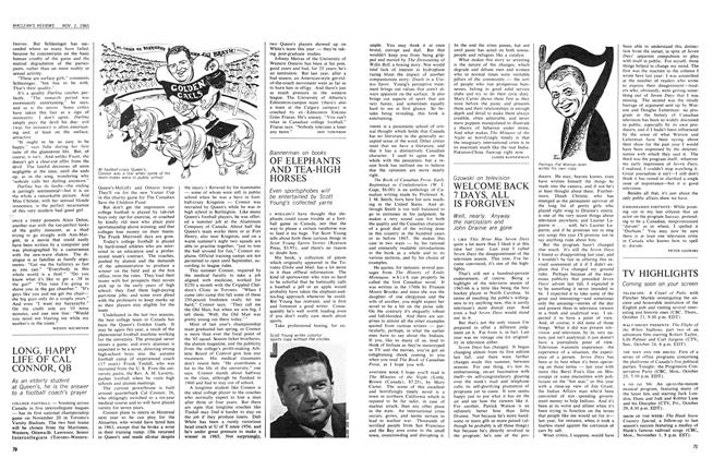 Article Preview: WELCOME BACK 7 DAYS, ALL IS FORGIVEN, November 1965 | Maclean's