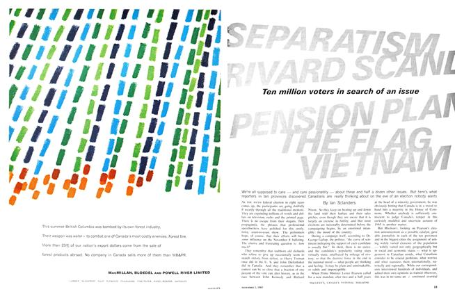 Article Preview: SEPARATISM RIVARD SCAND PENSION PLAN THE FLAG VIETNAM, November 1965 | Maclean's