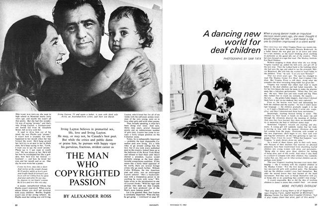 Article Preview: THE MAN WHO COPYRIGHTED PASSION, November 1965 | Maclean's