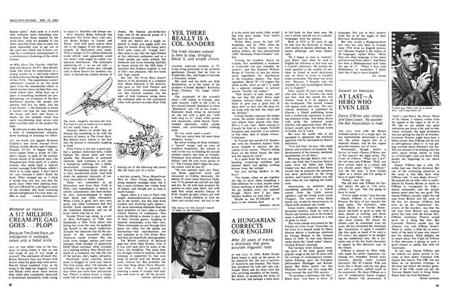 Article Preview: YES, THERE REALLY IS A COL. SANDERS, November 1965 | Maclean's