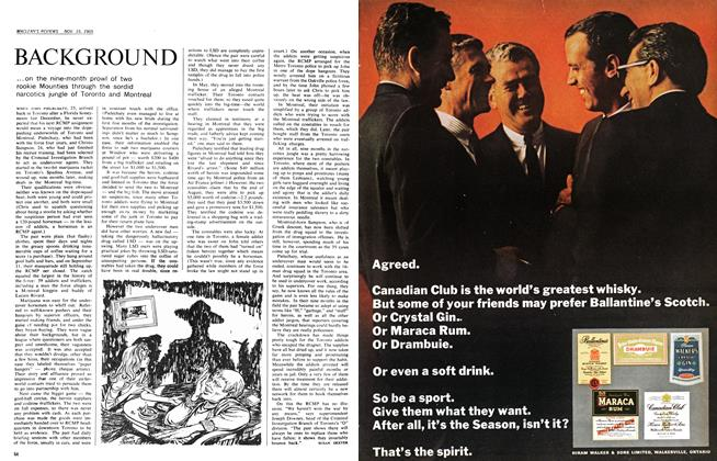 Article Preview: BACKGROUND, November 1965 | Maclean's