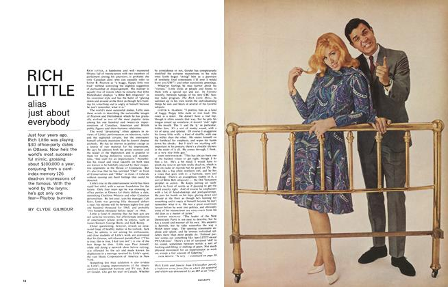 Article Preview: RICH LITTLE alias just about everybody, November 1965 | Maclean's