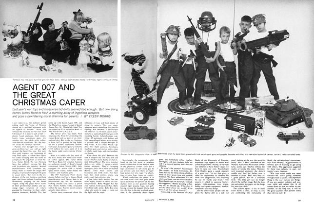 Article Preview: AGENT 007 AND THE GREAT CHRISTMAS CAPER, December 1965 | Maclean's