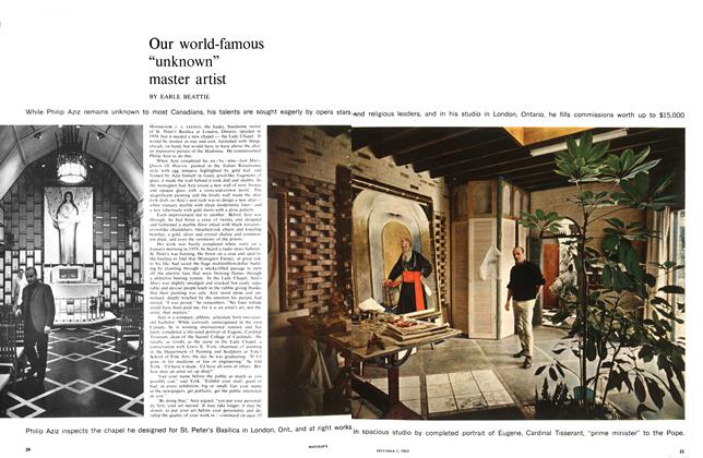 """Article Preview: Our world-famous """"unknown"""" master artist, December 1965 