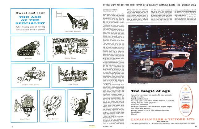 Article Preview: THE AGE OF THE SPECIALIST, December 1965 | Maclean's