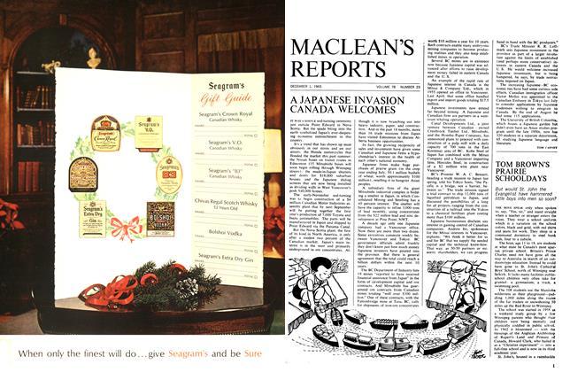 Article Preview: TOM BROWN'S PRAIRIE SCHOOLDAYS, December 1965 | Maclean's