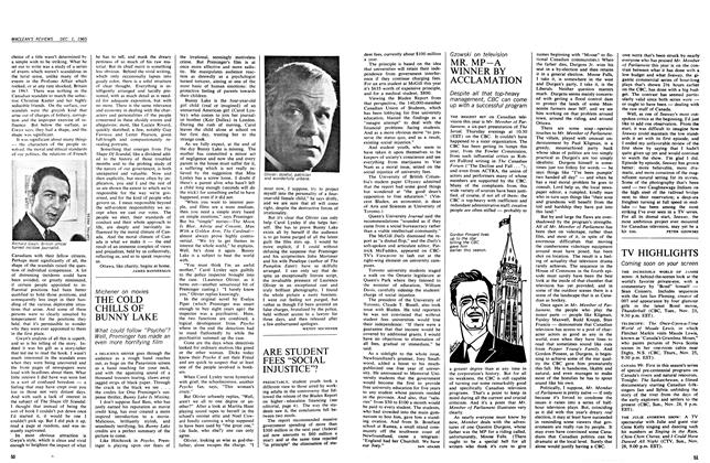 "Article Preview: ARE STUDENT FEES ""SOCIAL INJUSTICE""?, December 1965 