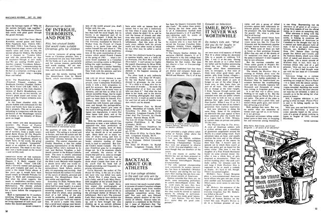 Article Preview: OF INTRIGUE, TERRORISTS, AND POETS, December 1965 | Maclean's