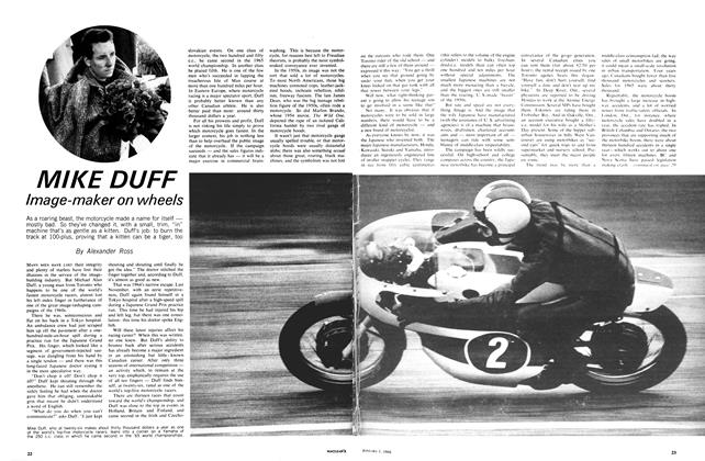 Article Preview: MIKE DUFF Image-maker on wheels, January 1966 | Maclean's