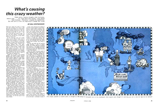 Article Preview: What's causing this crazy weather?, January 1966 | Maclean's