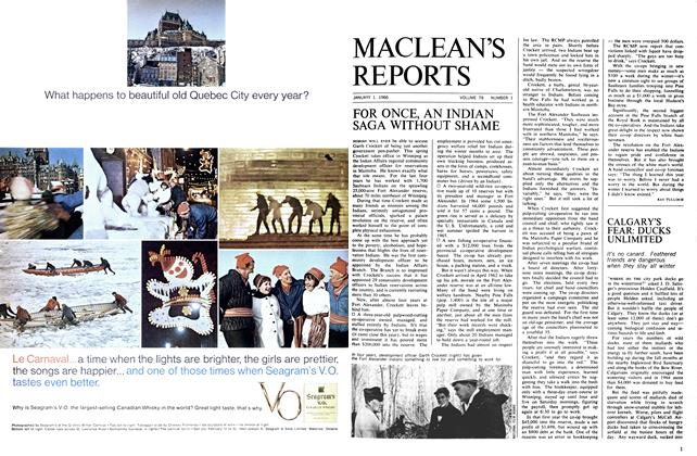 Article Preview: FOR ONCE, AN INDIAN SAGA WITHOUT SHAME, January 1966 | Maclean's