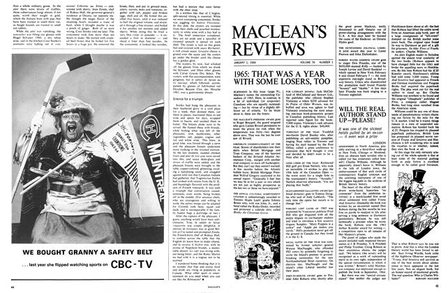 Article Preview: WILL THE REAL AUTHOR STAND UP-PLEASE!, January 1966 | Maclean's