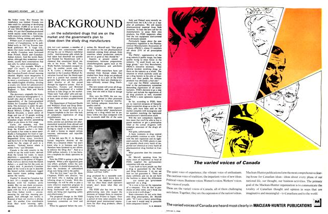 Article Preview: BACKGROUND, January 1966 | Maclean's