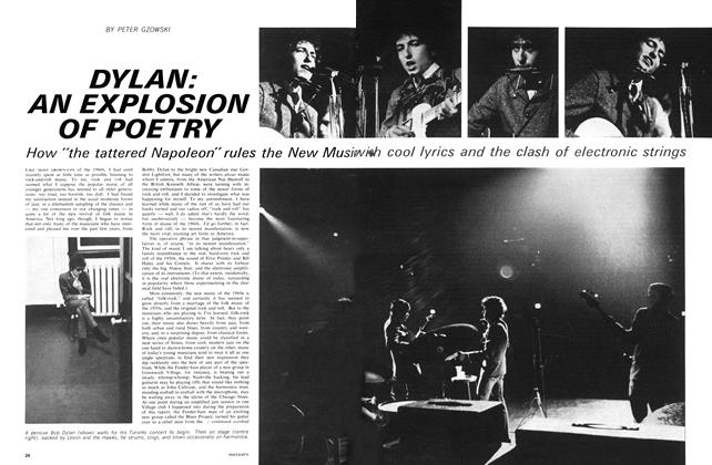 Article Preview: DYLAN: AN EXPLOSION OF POETRY, January 1966 | Maclean's