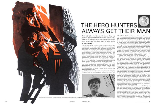 Article Preview: THE HERO HUNTERS ALWAYS GET THEIR MAN, January 1966 | Maclean's