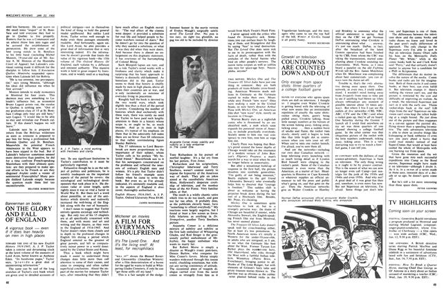 Article Preview: A FILM FOR EVERYMAN'S GHOULFRIEND, January 1966 | Maclean's