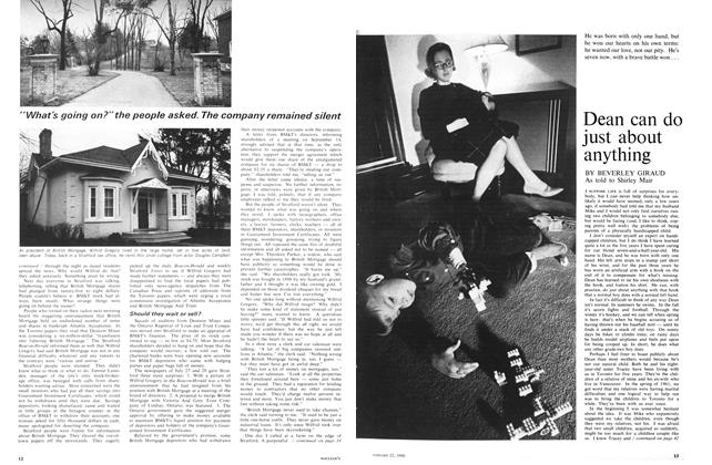 Article Preview: Dean can do just about anything, January 1966   Maclean's
