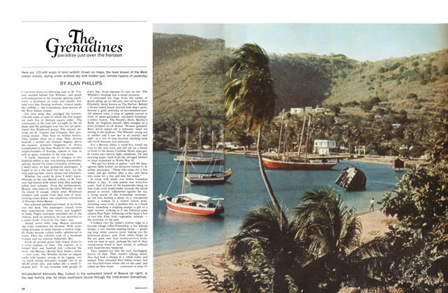 Article Preview: The Grenadines paradise just over the horizon, January 1966 | Maclean's