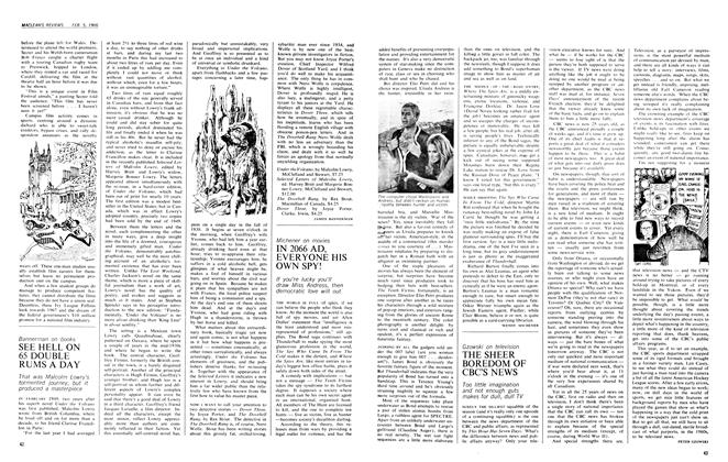 Article Preview: IN 2066 AD, EVERYONE HIS OWN SPY!, February 1966 | Maclean's