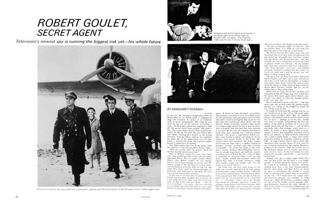 Article Preview: ROBERT GOULET, SECRET AGENT, February 1966 | Maclean's