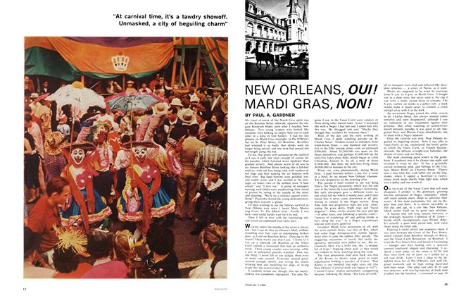 Article Preview: NEW ORLEANS, OUI! MARDI GRAS, NON!, February 1966 | Maclean's