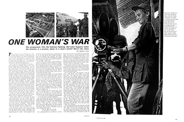 Article Preview: ONE WOMAN'S WAR, February 1966 | Maclean's