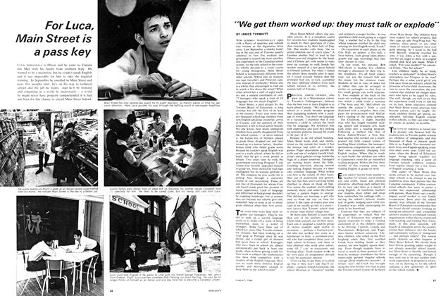 "Article Preview: ""We get them worked up: they must talk or explode"", March 1966 