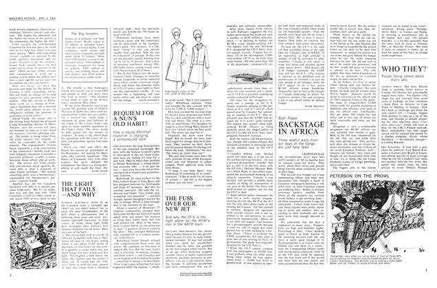 Article Preview: BACKSTAGE IN AFRICA, March 1966 | Maclean's