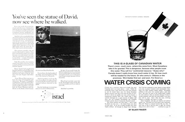 Article Preview: WATER CRISIS COMING, March 1966 | Maclean's
