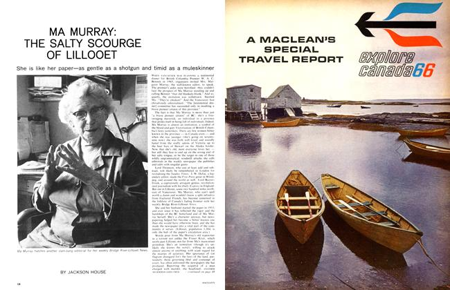 Article Preview: MA MURRAY: THE SALTY SCOURGE OF LILLOOET, March 1966 | Maclean's