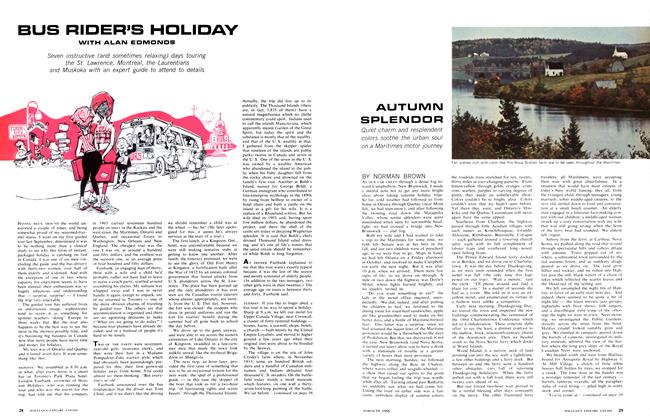 Article Preview: BUS RIDER'S HOLIDAY, March 1966 | Maclean's