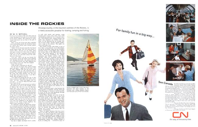Article Preview: INSIDE THE ROCKIES, March 1966 | Maclean's