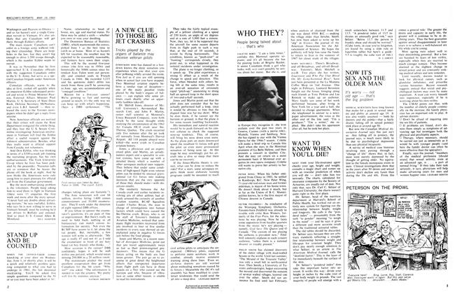 Article Preview: STAND UP AND BE COUNTED, March 1966 | Maclean's