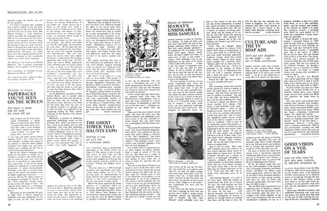 Article Preview: CULTURE AND THE TV SOAP ADS, March 1966 | Maclean's