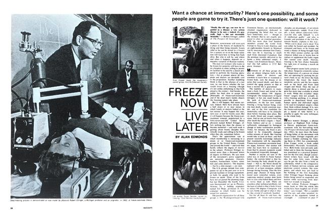 Article Preview: FREEZE NOW LIVE LATER, April 1966 | Maclean's