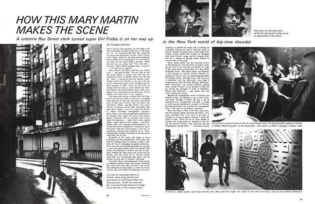 Article Preview: HOW THIS MARY MARTIN MAKES THE SCENE, April 1966 | Maclean's