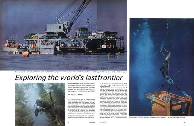 Article Preview: Exploring the world's last frontier, April 1966 | Maclean's