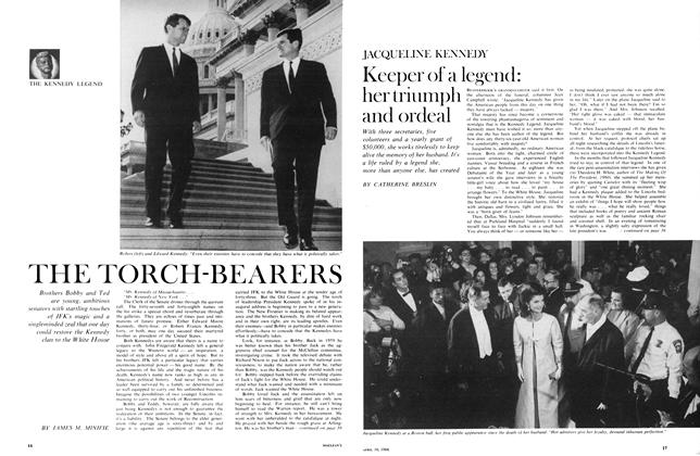 Article Preview: Keeper of a legend: her triumph and ordeal, April 1966   Maclean's
